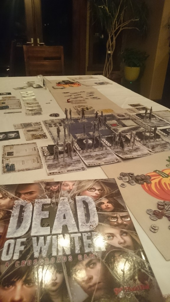 A game of Dead of Winter